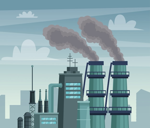 Чименский завод загрязняет воздушную сцену