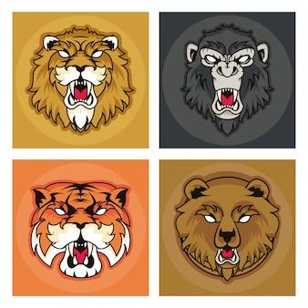 野生動物の精神創造