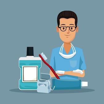 歯科医師および歯科ケア用品