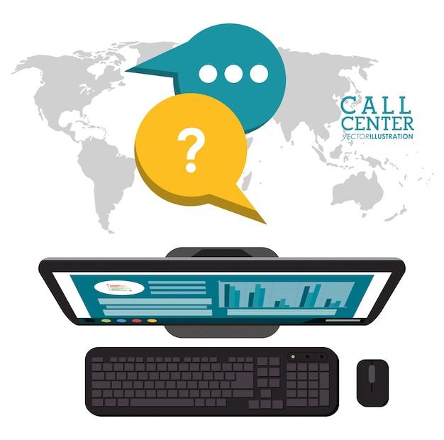 コールセンターの世界サポートサービス