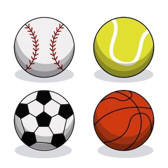 Комплект спортивного снаряжения для мячей