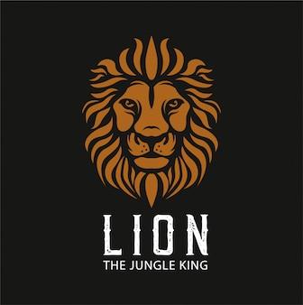 Иллюстрация логотипа льва