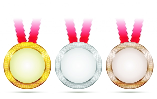 Векторные достижения медали