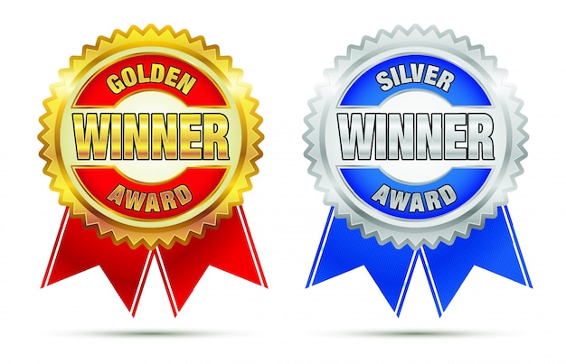 金と銀の賞