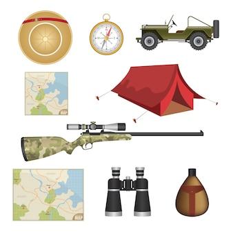 Комплект охотничьего снаряжения