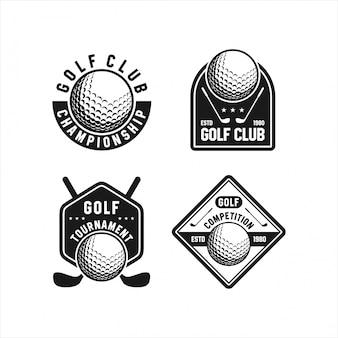 Гольф логос турнир коллекции