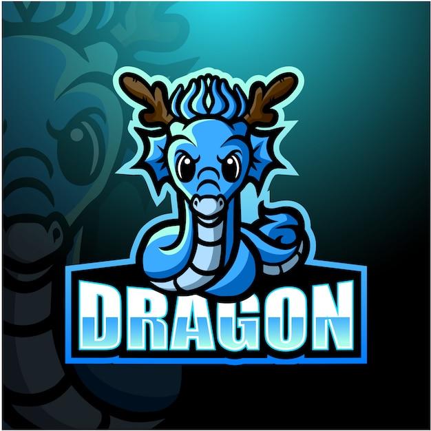 Иллюстрация талисмана дракона