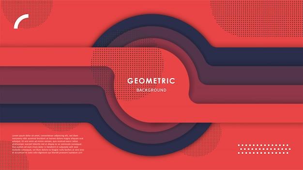 Абстрактный геометрический фон с красочными формами