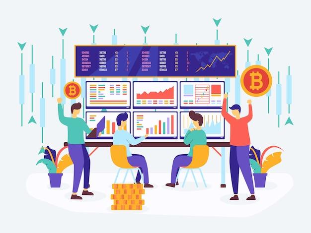 オンライン取引暗号通貨