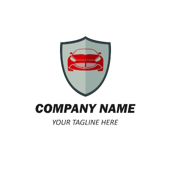 Элемент логотипа автомобиля