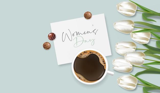 Женский день иллюстрация