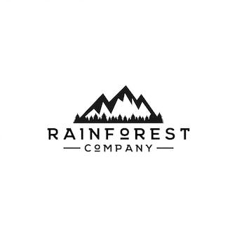 熱帯雨林のロゴ