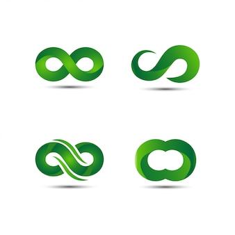 グリーン無限ロゴ