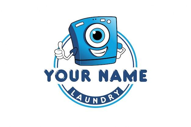 洗濯ロゴデザイン