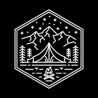 アドベンチャーキャンプの図