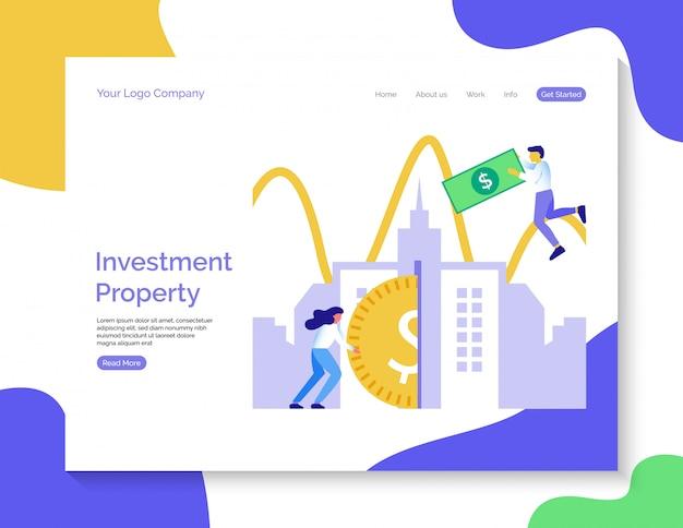 Целевая страница инвестиционной недвижимости