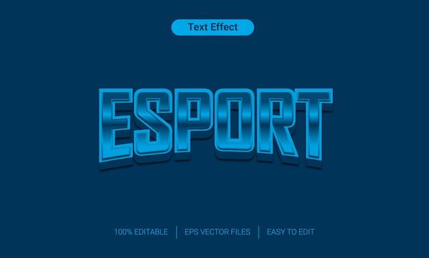 Эспорт редактируемый заменить стиль текста эффект