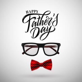 Счастливый день отца рукописные надписи