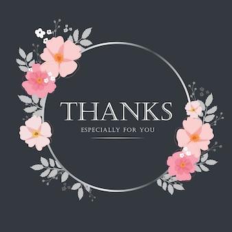 Векторная иллюстрация спасибо дизайн вектор типографика для поздравительных открыток и плакатов.