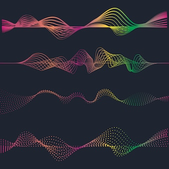 Иллюстрация звуковых волн
