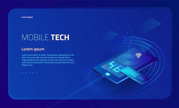 等尺性のスマートフォン技術の背景