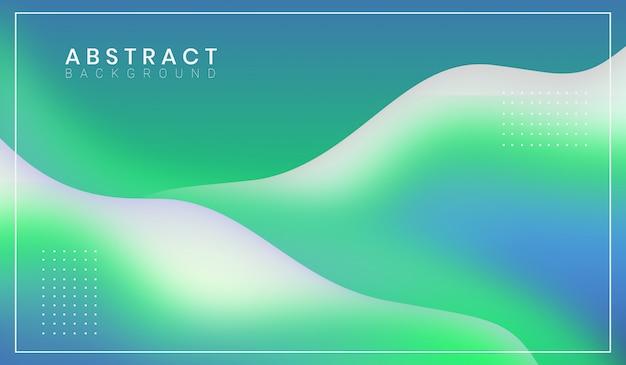 Абстрактная современная волнистая форма фона