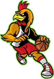 Петух баскетбол