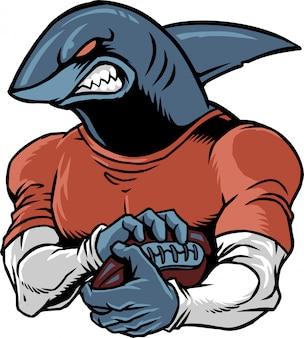 サメのサッカー