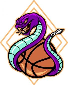 スネークバスケットボール