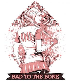 Девушка бейсбола