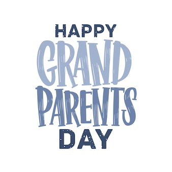Счастливый день бабушки и дедушки открытка.