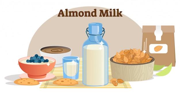 ナチュラルアーモンドミルクコンセプト