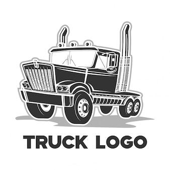 トラックのロゴのベクトル