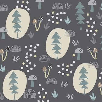 Лесной узор
