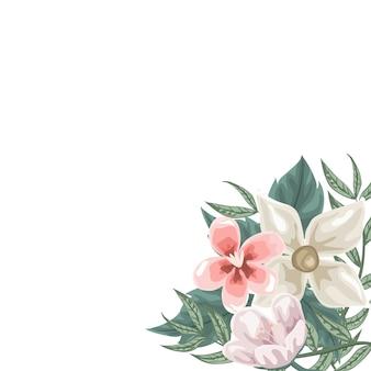 Рамка из цветов