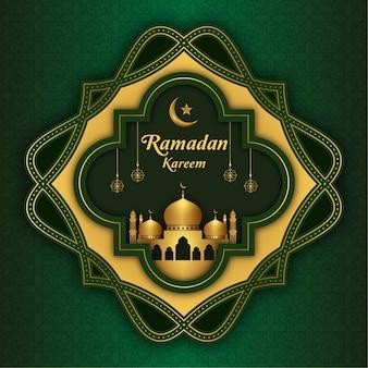 ラマダンカリームイスラム背景