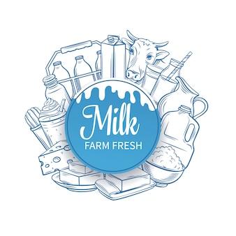 牛乳生産者。