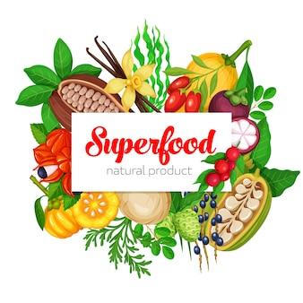 Суперфуд фрукты и ягоды