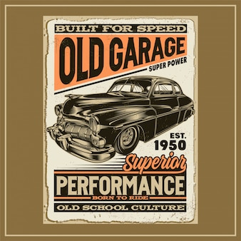 古いガレージ