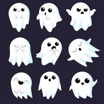 Симпатичная коллекция призраков