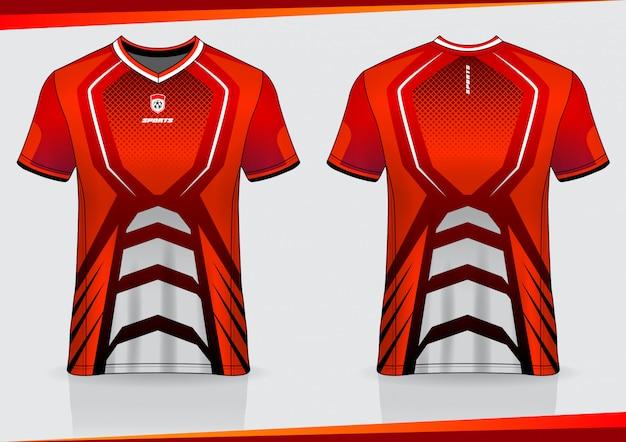 Футболка спортивная футболка дизайн шаблона