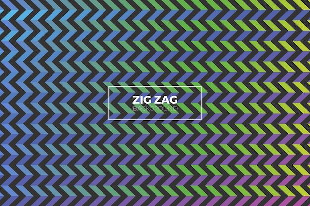 ジグザグ形の抽象的な背景グラデーション