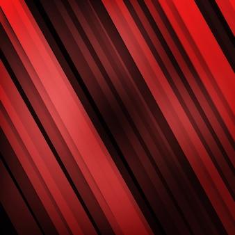 Вектор абстрактная геометрическая форма из красного