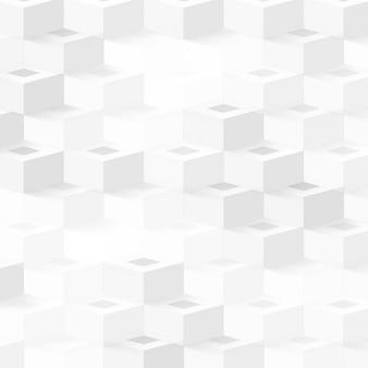 Вектор абстрактные геометрические фигуры из кубов.