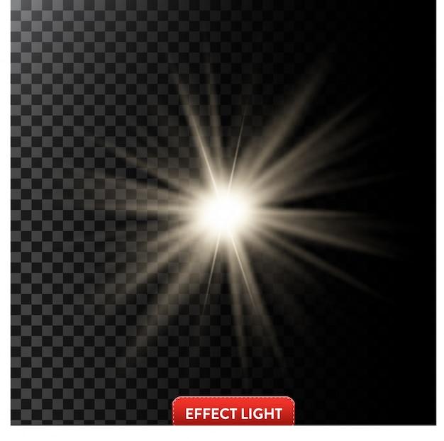 光の効果の背景