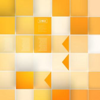 ベクトル灰色のキューブから抽象的な形状の図形。