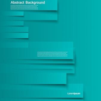 ベクターデザイン。抽象的なラインのパンフレットカード