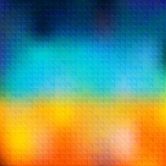 幾何学的形状のベクトル夏のパターン。