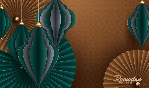 Рамадан карим дизайн фона. векторные иллюстрации для поздравительных открыток, плакатов и баннеров. векторная иллюстрация