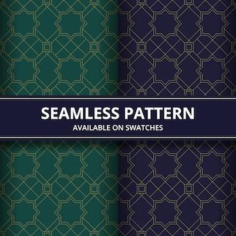 シームレスなパターン。バティックスタイルの幾何学的形状。背景の壁紙。伝統的な上品なモチーフ。